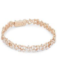 Adriana Orsini - Caspian Crystal Line Bracelet - Lyst