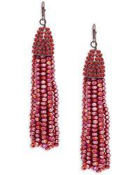 Saks Fifth Avenue - Tassel Drop Earrings - Lyst