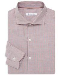 Loro Piana - Regular-fit Francis Check Dress Shirt - Lyst