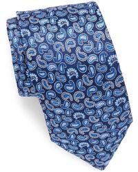 Saks Fifth Avenue - Paisley Printed Silk Tie - Lyst