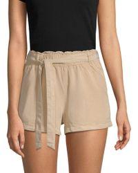 Sanctuary - Paperbag Self-tie Shorts - Lyst