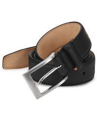 Saks Fifth Avenue Saffiano Leather Belt
