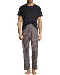 Calvin Klein - 2-piece Logo Pajama Set - Lyst