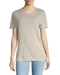 IRO - Clay Ripped Tee - Lyst