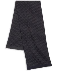 Saks Fifth Avenue - Collection Square Printed Wool Blend Scarf - Lyst