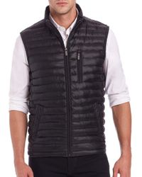 Saks Fifth Avenue - Collection Thermoluxe Puffer Vest - Lyst