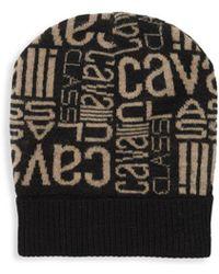 Roberto Cavalli - Logo Printed Hat - Lyst