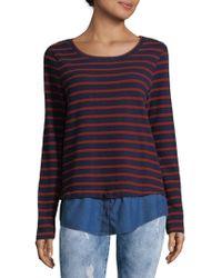 Soft Joie - Marilina Striped Shirt - Lyst