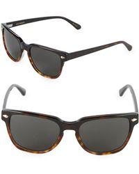 Zac Posen - Daan 55mm Square Sunglasses - Lyst