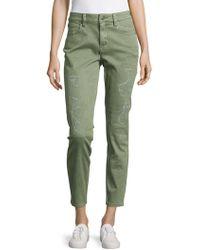 BCBGMAXAZRIA - Billie Woven Denim Jeans - Lyst