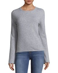 NAKEDCASHMERE - Bell Sleeve Cashmere Pullover - Lyst