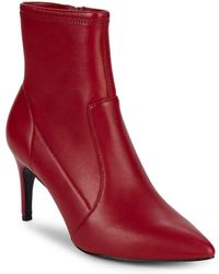 Charles David - Pride Leather Point Toe Booties - Lyst