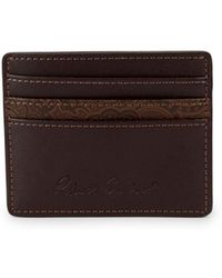 Robert Graham - Leather Card Case - Lyst