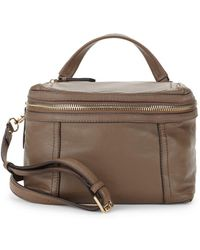 Vince Camuto - Medium Leather Crossbody Bag - Lyst