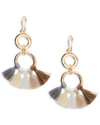 Jardin - Tasselled Dangle & Drop Earrings - Lyst