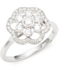 Kwiat - Oasis Diamond & 18k White Gold Ring - Lyst