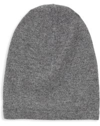 Saks Fifth Avenue - Classic Cashmere Beanie - Lyst