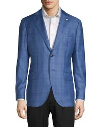 Lubiam - Plaid Wool Sportcoat - Lyst