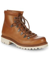 Frye - Woodson Leather Hiker Boots - Lyst
