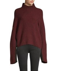 Zadig & Voltaire - Lola Oversized Sweater - Lyst