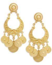Ben-Amun | Goldtone Chandelier Earrings | Lyst