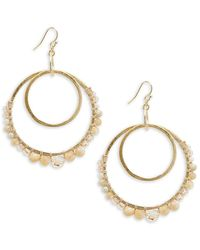 Chan Luu - Multi-stone And Sterling Silver Drop Earrings - Lyst
