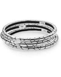 John Hardy - Kali Bangle Bracelet Set - Lyst