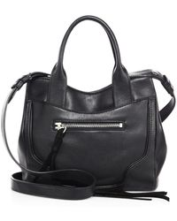 Elizabeth and James - Andie Mini Leather Satchel - Lyst