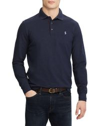 Ralph Lauren - Stretch Long-sleeve Mesh Polo - Lyst