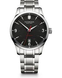 Victorinox - Alliance Stainless Steel Watch - Lyst