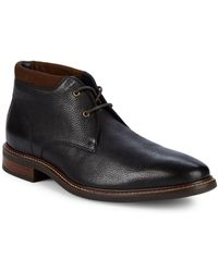 Cole Haan - Watson Chukka Ii Pebbled Leather Boots - Lyst