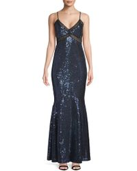 Zac Posen - Sequined Mermaid Gown - Lyst