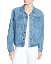 Catherine Malandrino - Cole Denim Jacket - Lyst
