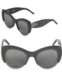 Pomellato - 48mm Cat-eye Sunglasses - Lyst