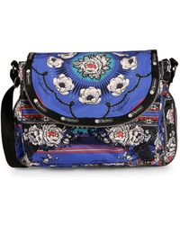 LeSportsac - Colette Floral Canvas Messenger Bag - Lyst