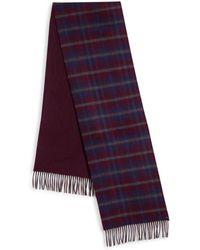 Saks Fifth Avenue - Plaid Merino Wool & Cashmere Scarf - Lyst