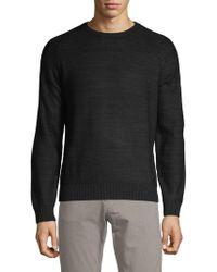 Bugatti - Crewneck Waffle Sweater - Lyst