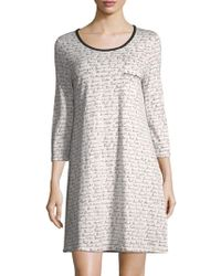 Carole Hochman - Collection Gnite Cotton Sleep Shirt - Lyst