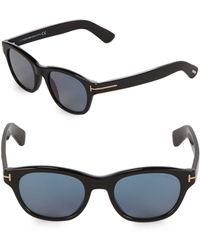 d6bf7822df5d Tom Ford - 51mm Square Sunglasses - Lyst