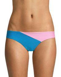 Onia - Lily Colorblock Bikini Bottom - Lyst
