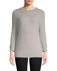 Saks Fifth Avenue - Classic Three-quarter Sleeve Jumper - Lyst