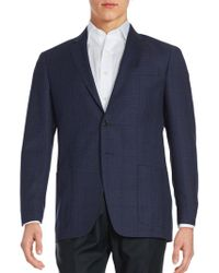 Todd Snyder - Windowpane Wool Suit Jacket - Lyst
