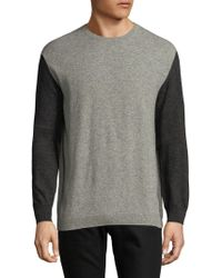 French Connection | Lambswool Block Sweater | Lyst