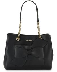 Karl Lagerfeld - Chic Leather Tote - Lyst