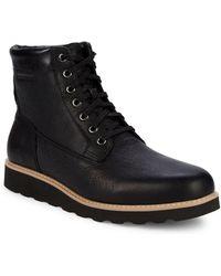 Cole Haan - Nantucket Leather Platform Active Boots - Lyst