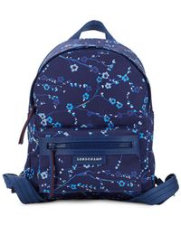 Longchamp - Le Pliage Printed Backpack - Lyst