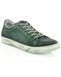 35a66434db885e Saks Fifth Avenue - Canvas Spray Paint Sneakers - Lyst