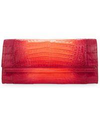Nancy Gonzalez - Crocodile Leather Clutch Bag - Lyst
