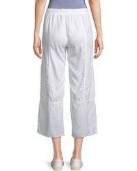 XCVI - Carolina Frayed Trousers - Lyst