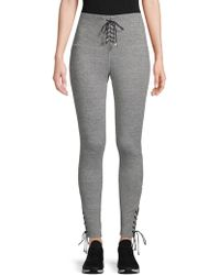 Electric Yoga - The It Lace-up Leggings - Lyst